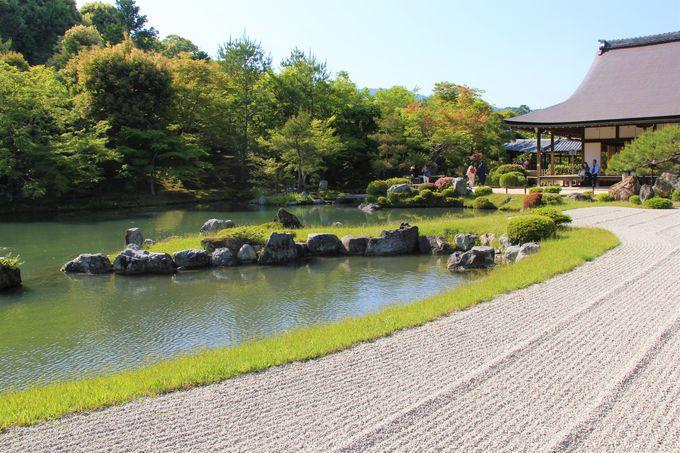 アクセスが便利!京都「天龍寺」の見どころは「曹源池庭園」