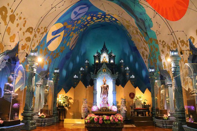 世界の宗教観、美術が融合!エラワン像そのものが美術館