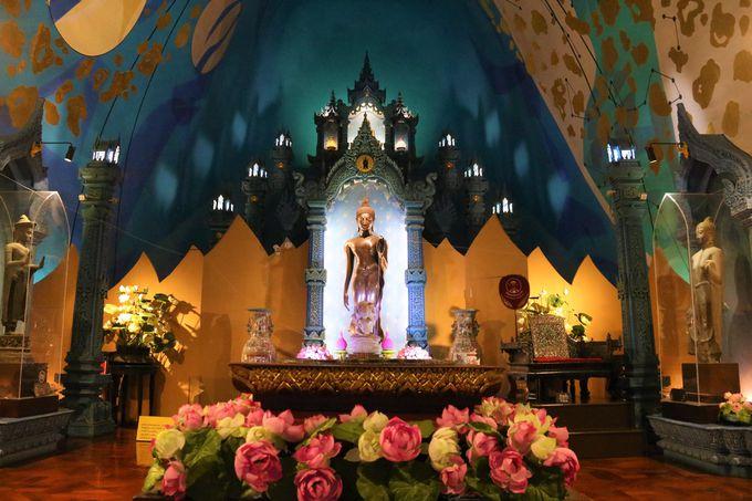 エラワン像の胎内が寺院!ダーウドゥン天上界はタイのパワースポット