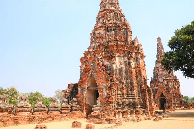 廃墟の魅力とは?アユタヤ王朝の栄華感じるタイの観光旅行へ