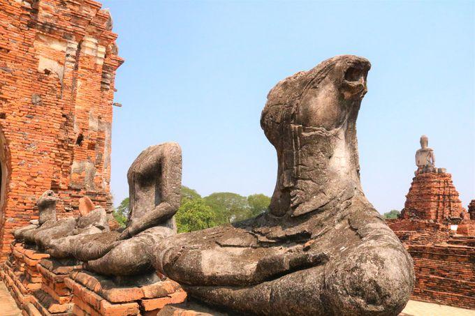 タイ人女性が聖地巡礼の旅へ!ワット・チャイワタナラーム遺跡