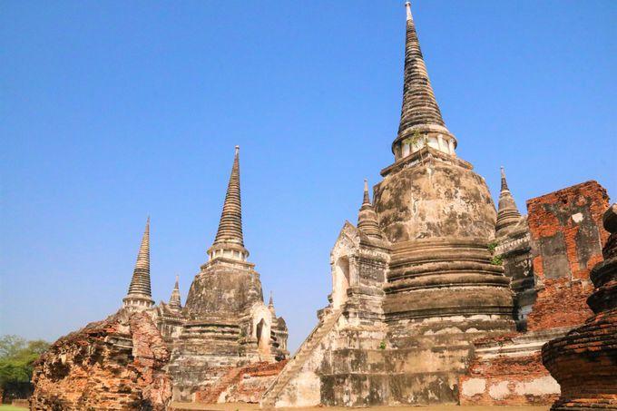 タイの仏塔の違いは?ワット・チャイワタナラームの見どころ