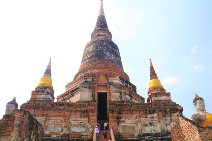 アユタヤの瞑想寺院!ワット・ヤイ・チャイ・モンコン