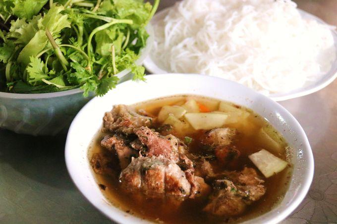 ベトナム庶民の味!安い!「ブン・チャー・ター・ハノイ」