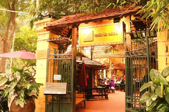 観光旅行者やベトナム人に人気!ハノイの「クアンアンゴン」