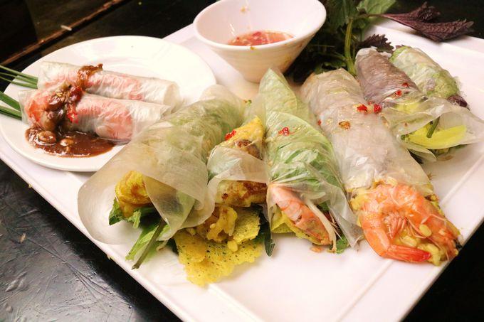 フエの宮廷料理も食べられる!クアンアンゴンの人気メニュー