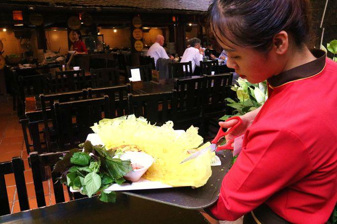 生春巻き、バインセオはおすすめ!クアンアンゴンのベトナム料理