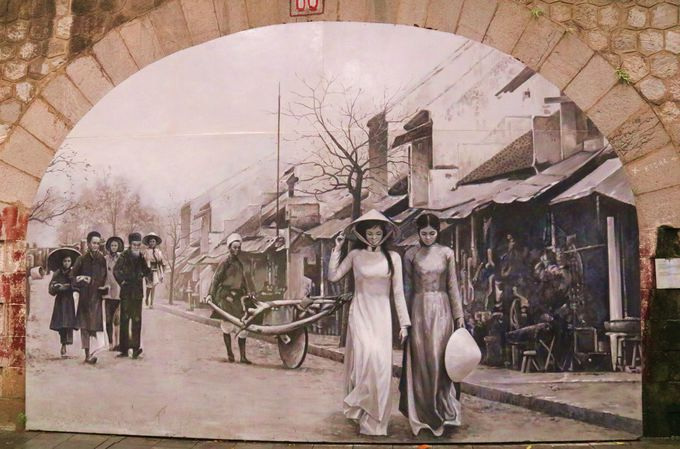 ハノイの新インスタ映えスポット!フンフン通りの壁画ストリート