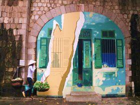 不思議なアートの世界!ハノイの新観光名所「壁画ストリート」