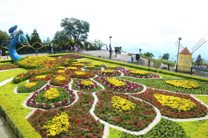 フラワー・ガーデン(空中庭園)、リンウン寺も撮影ポイント