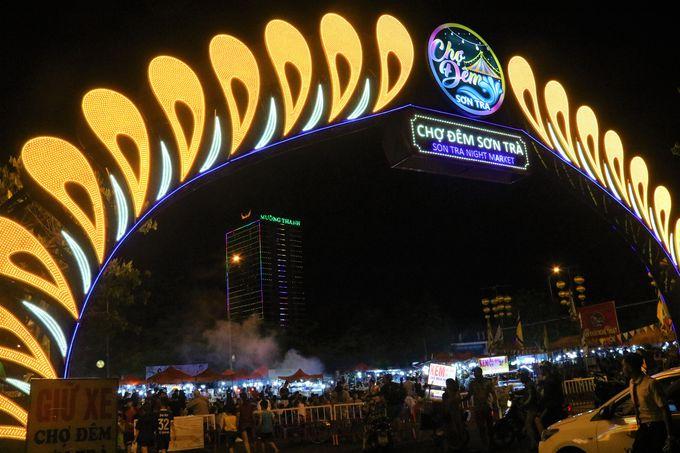 ドラゴン橋の近く!ダナンのナイトマーケットは毎夜開催