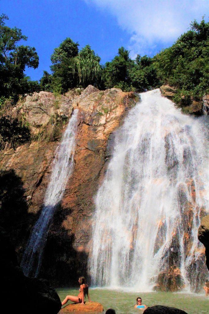 ナ・ムアンの滝1&2/サムイ水族館とタイガー動物園