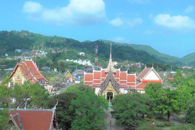 シャロン寺院からの眺めは最高
