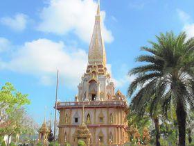 タイ・プーケットのパワースポット「ワット・シャロン寺院」