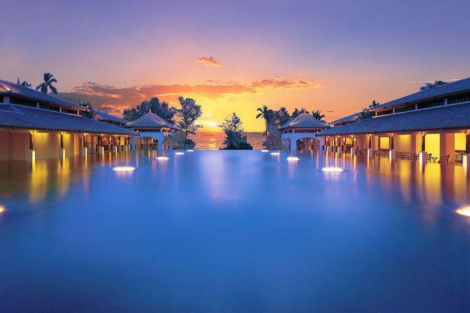 プーケットの美しいリゾートホテル