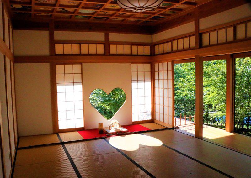 五感に響く日本の風景!京都「正寿院」のハート窓と風鈴祭り