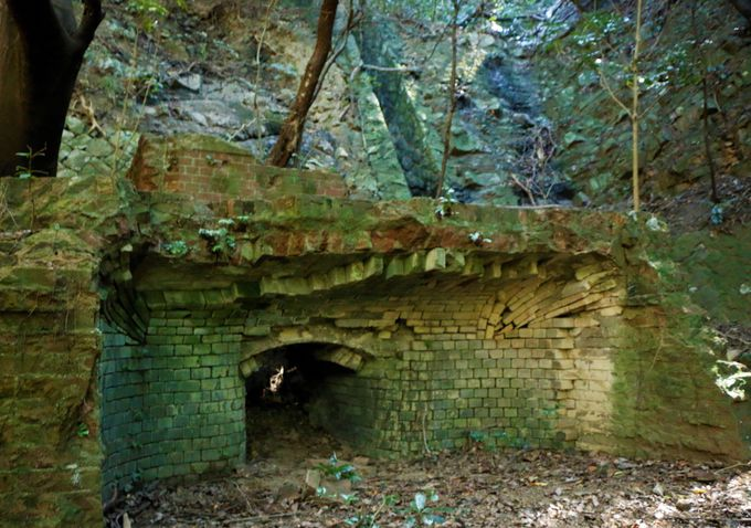 歴史と自然の深山砲台ハイキング
