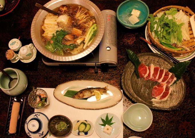 洞川温泉で味わいたい!名物料理