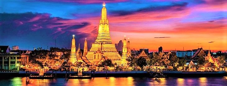 バンコクを代表する風景!「ワット・アルン」(暁の寺)は夕暮れがおすすめ