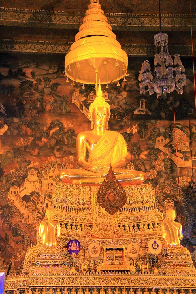巨大な寝釈迦仏!タイ古式マッサージの総本山「ワット・ポー」(涅槃仏寺院)