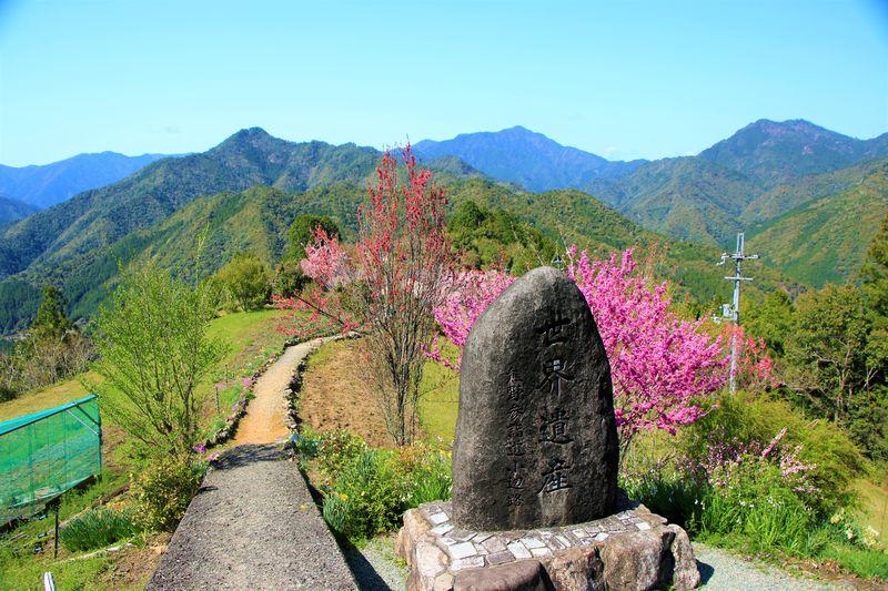 果てしない大空と世界遺産の道!奈良県十津川村「果無集落」