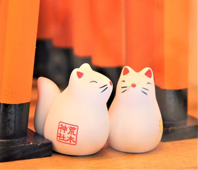 キツネのおみくじも可愛い!京都最強の良縁&縁結び、恋愛成就パワースポット!口入稲荷神社と口入人形