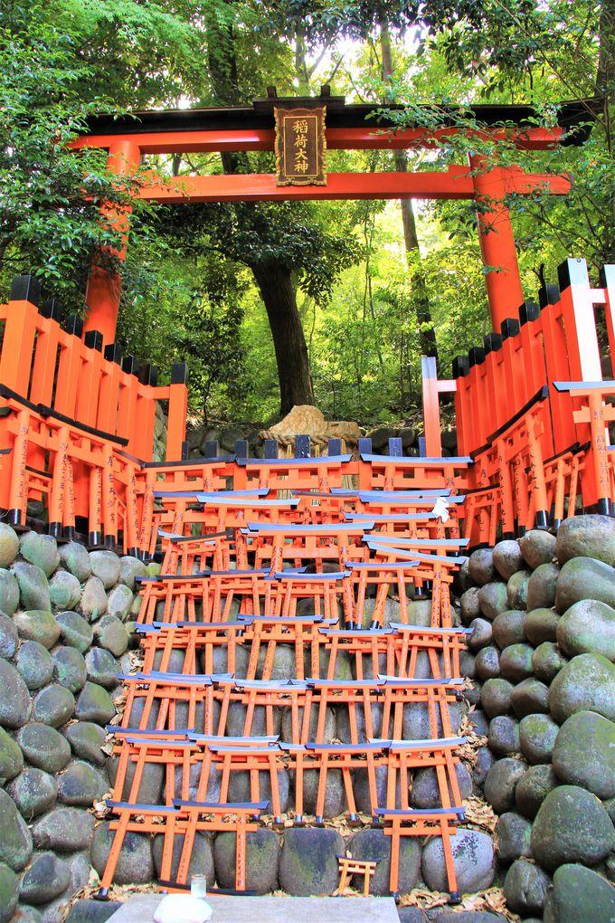 京都・伏見稲荷大社の奥院!「おもかる石」「きつね絵馬」はパワースポット