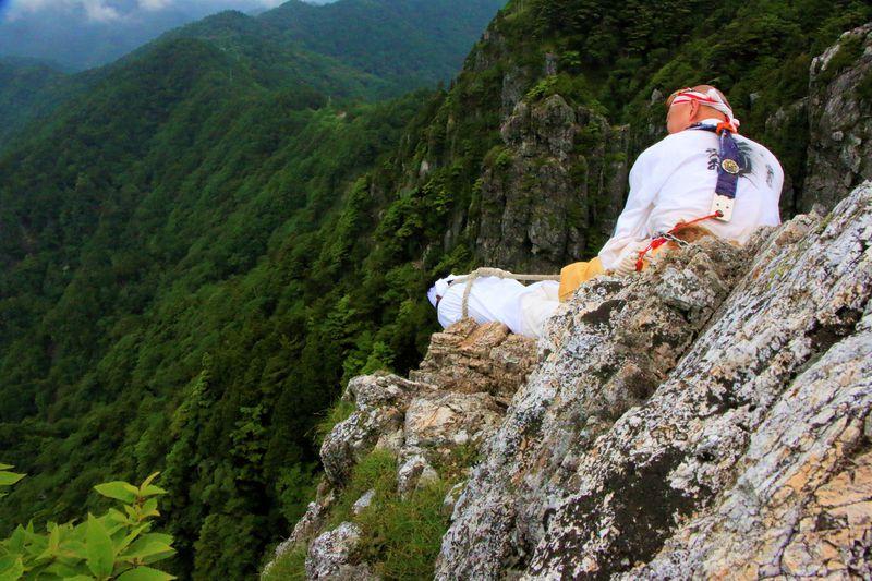 女人禁制の山修行!登山・覗きで死の疑似体験!奈良県大峯山