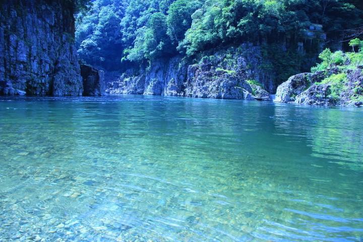 特別名勝の峡谷!瀞峡(瀞八丁)