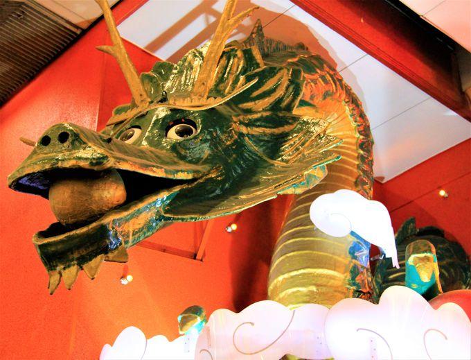 大阪名物「金龍ラーメン」の龍看板/大起水産の首だけマグロ/モテモテの色男「くいだおれ太郎」