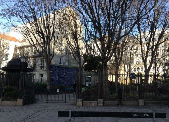 世界中で有名になった小さな広場