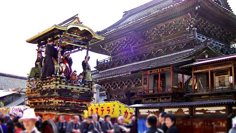 歴史ある城端曳山祭り 富山県・南砺市