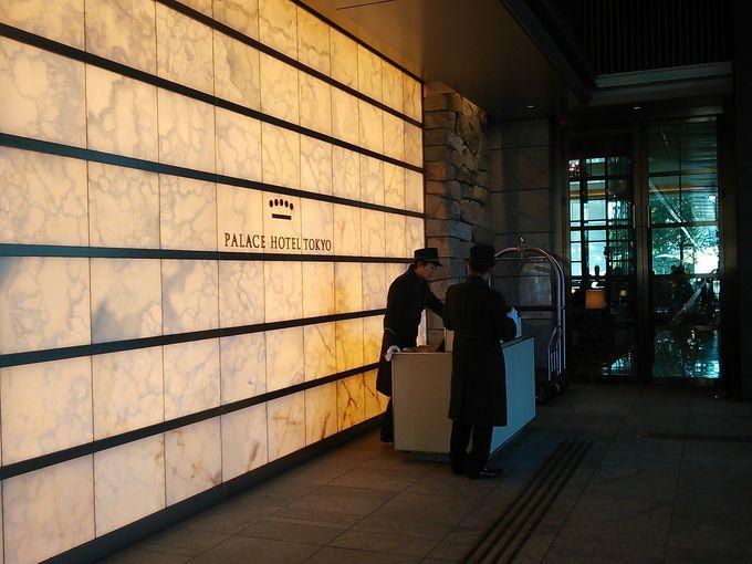 サイクリング後はパレスホテル東京でティータイムを