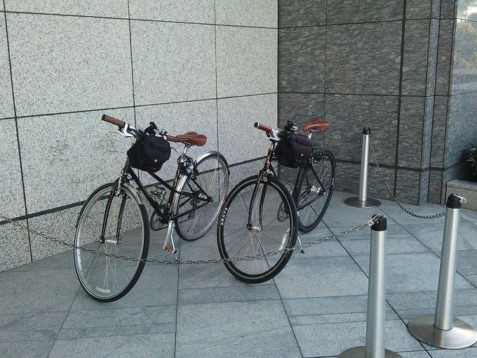 英・ラレー社のスマートな自転車で街へ