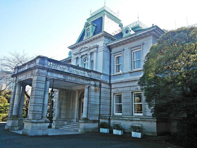 バロック様式の歴史ある旧竹田宮邸
