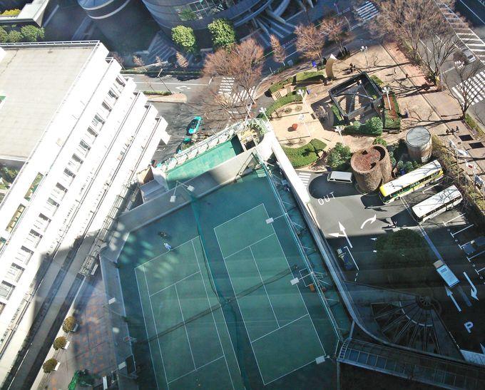 ホテル内のスパやテニスでリフレッシュ♪