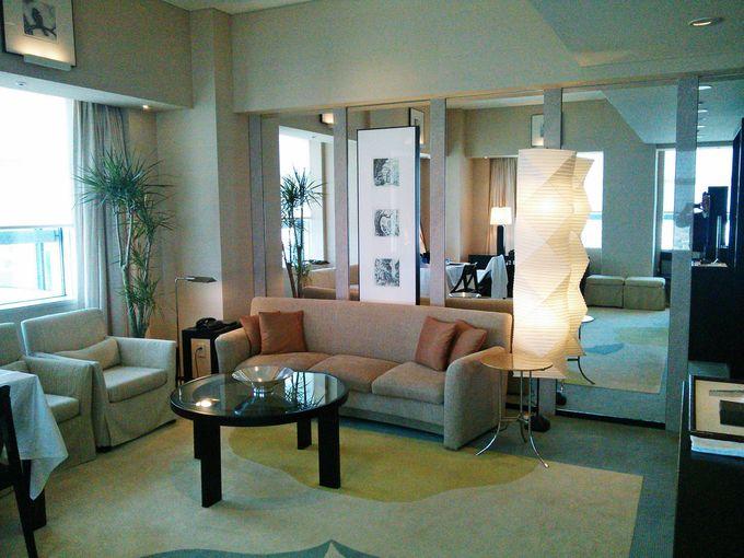 客室は上品で贅沢の極み