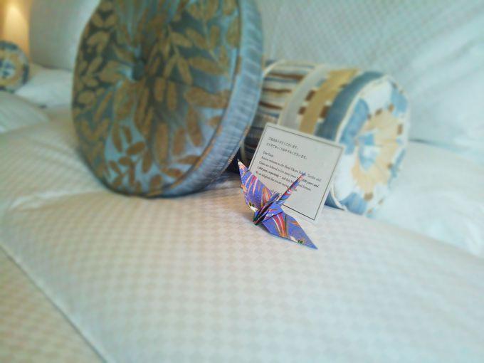 おもてなしを折り紙にたくして