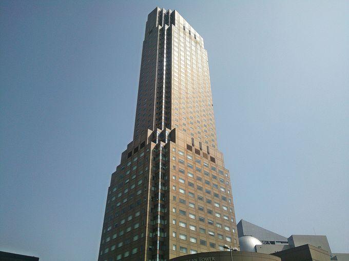 渋谷の街に佇むスタイリッシュなホテル