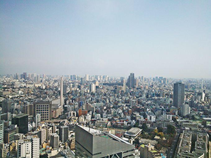 渋谷の喧騒を離れた開放的な景色「セルリアンタワー東急ホテル」