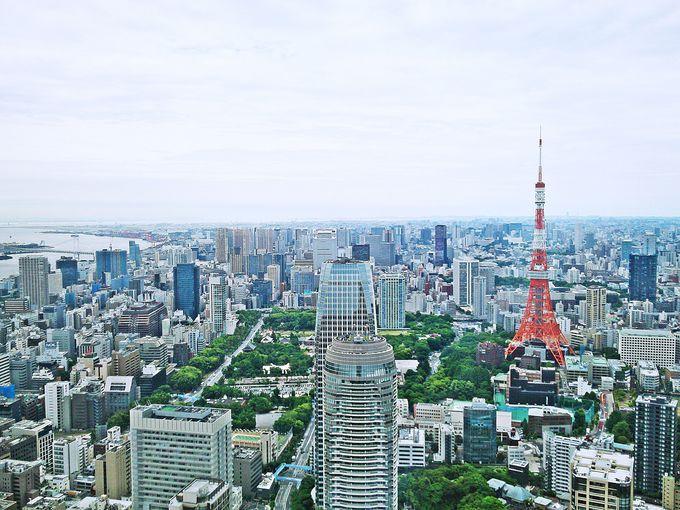 東京タワーや東京シャンゼリゼ通りを一望「アンダーズ東京」