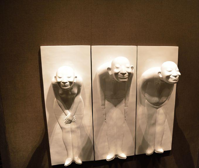 まるで美術館!飾られているアートも魅力
