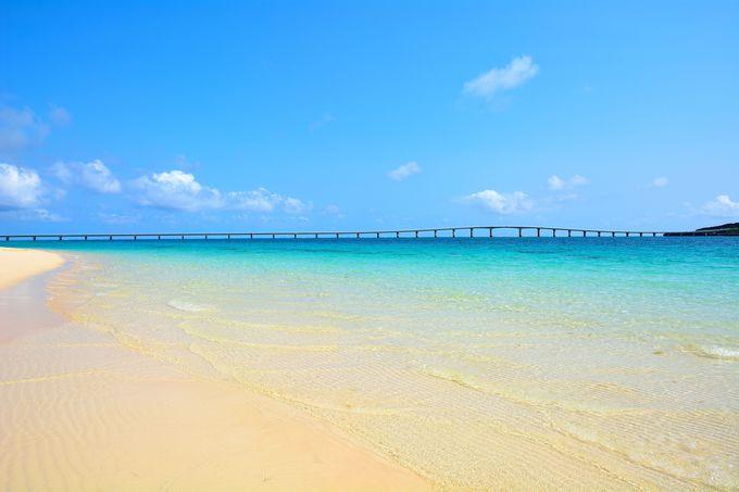 東洋一美しいと言われるビーチ!『与那覇前浜ビーチ』