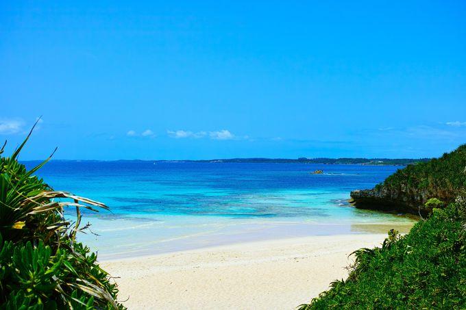 宮古島の代表的なビーチ!『砂山ビーチ』