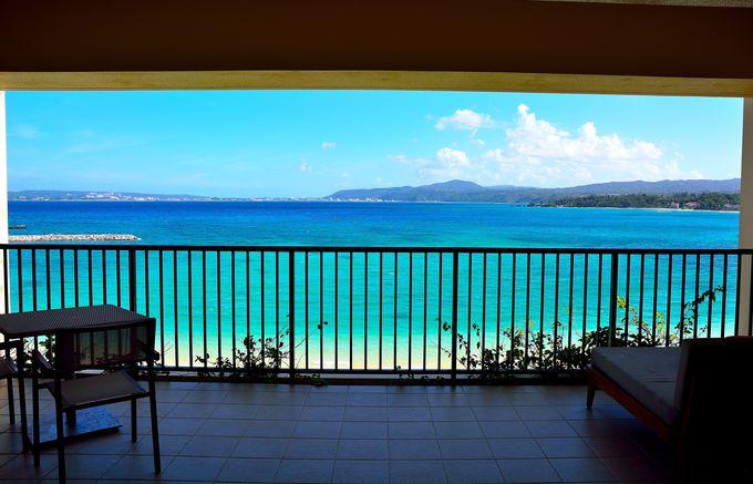 まさに「天国・オン・ザ・ビーチ」の眺望!クラブデラックスオーシャンから見る絶景!