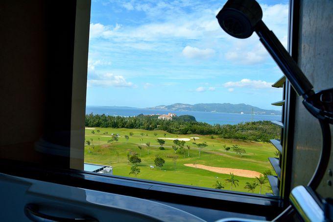 素晴らしい眺望が楽しめる客室!