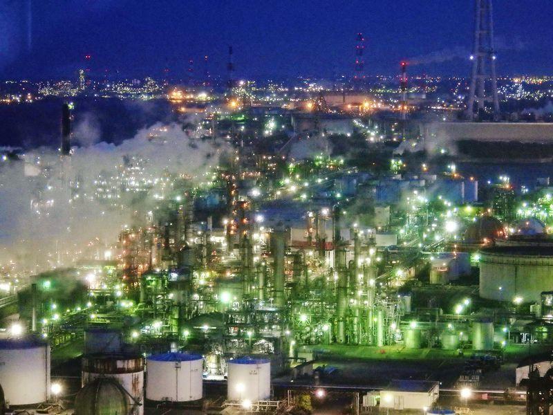 夜景 大阪 工場 工場夜景クルーズ