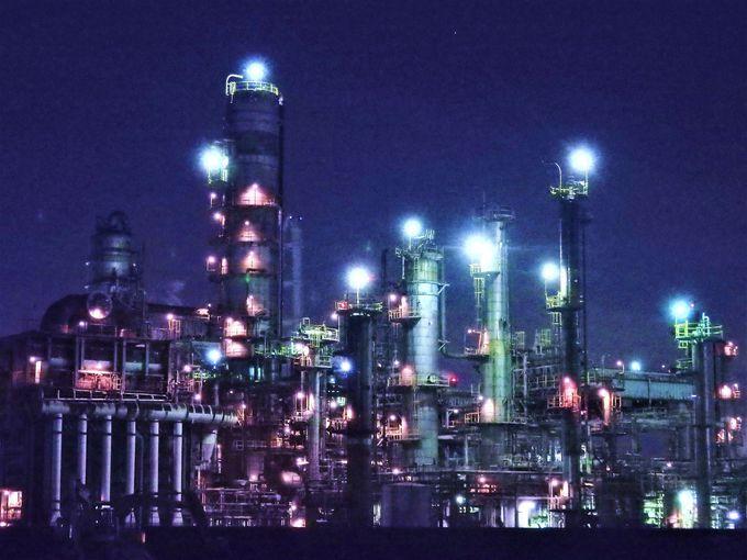 気軽に行ける四日市工場夜景モデルコースは所要3〜4時間