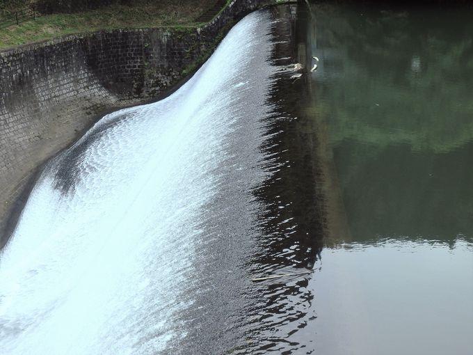 白水ダム整備事業によるダム越流停止期間について
