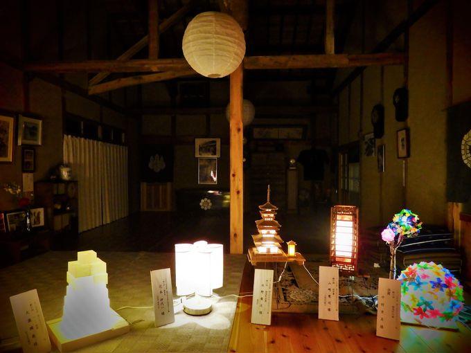 行灯アートが彩るのは湯浅の千年の町並み